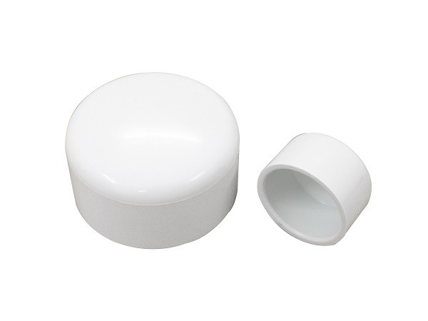 "1"" Cover Hot Tub Plumb Parts PVC Tube Fittings For Water Air Distributor End Cup"