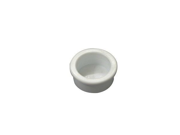 Plumb Parts PVC Tube Fittings 1 Inch Slip Cap / Plug For Water Air Distributor End Cup